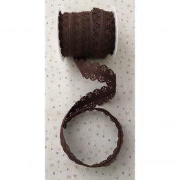 pendientedeunhilo-cremallera-puntilla-marrón-chocolate